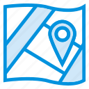 area, location, map, navigation, pin, pointer, travel icon