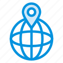 browser, gps, internet, location, map, navigation, network icon