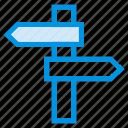 arrow, direction, left, location, map, navigation, path icon