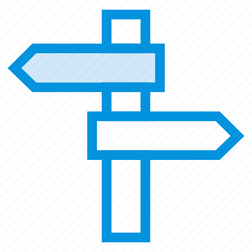 arrow, direction, left, location, map, navigation, path icon