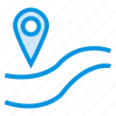 direction, gps, location, navigation, pin, traffic, vehicles icon