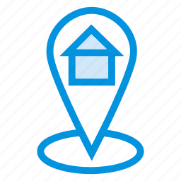 direction, gps, home, location, map, navigation, pointer icon