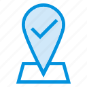 checkpoint, direction, location, map, navigation, pin, target icon