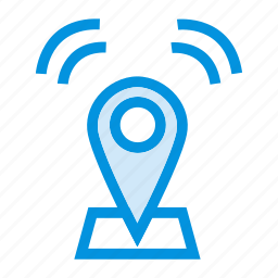 direction, location, map, navigation, pin, pointer, wif icon