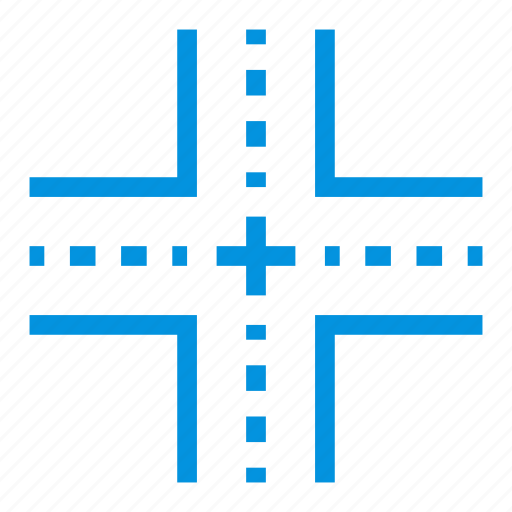 bridge, direction, point, road, sign, traffic, transport icon