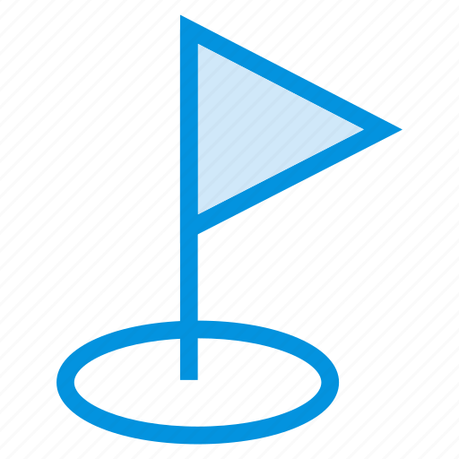 area, flag, goal, golf, location, mark, pin icon
