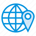 browsing, global, gps, internet, location, pin, world