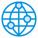 communication, globe, information, internet, location, map, world icon