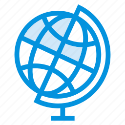 browsing, globe, international, internet, location, network, world icon