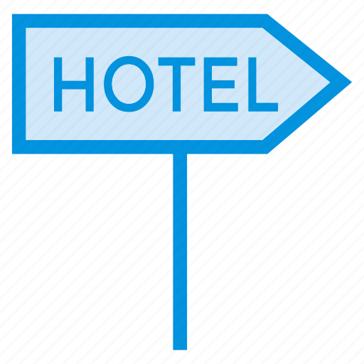 apartment, hotel, label, service, sign, travel, vacation icon
