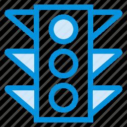 light, signal, speed, traffic, trafficlight, transportation, vehicle icon