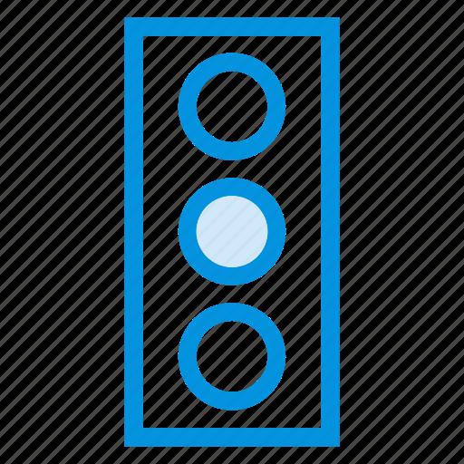 light, service, signal, speed, traffic, trafficlight, transport icon
