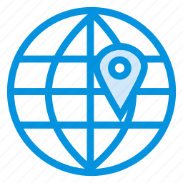 communication, earth, globe, location, map, planet, world icon