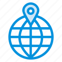 communication, gps, location, map, navigation, pin, world icon