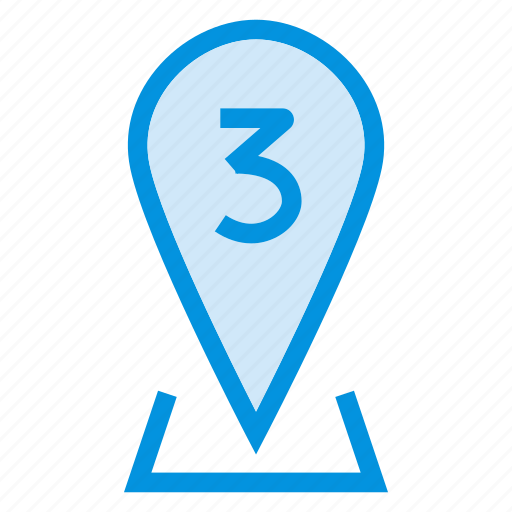 arrow, direction, location, map, navigation, pin, sign icon