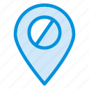 gps, location, map, navigation, pinpoint, track icon