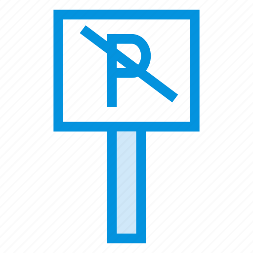 noparking, restriction, road, service, stop, traffic, transport icon