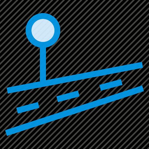 driving, gps, location, navigation, pin, road, street icon