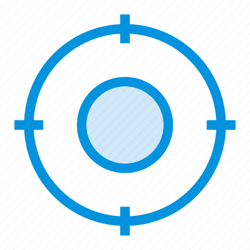 arrow, circle, focus, goals, location, position, target icon