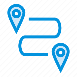 gps, location, map, navigation, pin, point, tracker icon