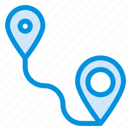 gps, graph, location, navigation, pin, point, tracker icon