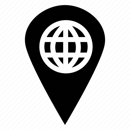 browser, direction, gps, location, map, navigation, pointer icon