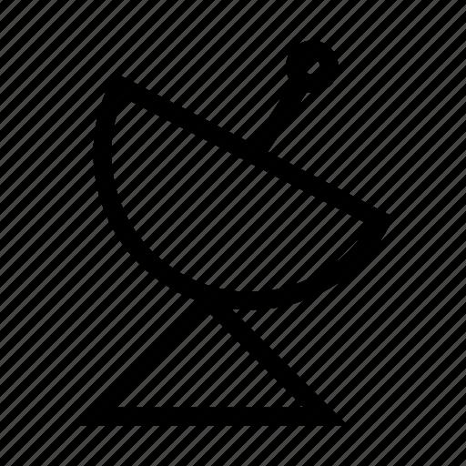 antenna, dish, gps, location, navigation, satellite, technology icon