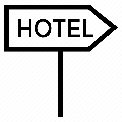 board, hotel, hotelservice, information, resort, service, tag icon