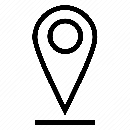 direction, gps, location, navigation, pin, service, sign icon