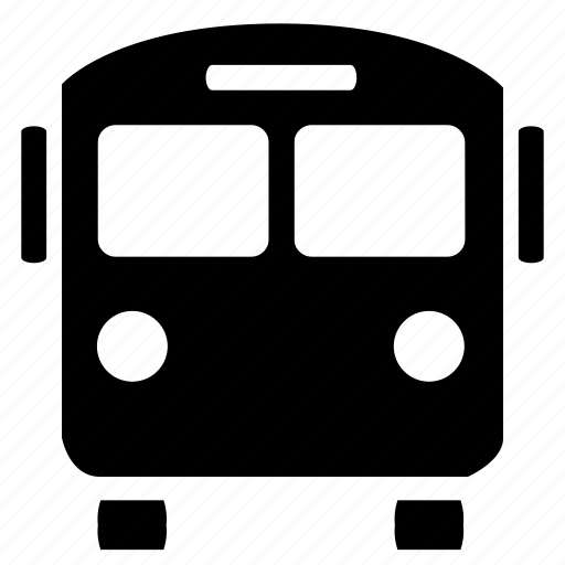 bus, bus station, station, transport icon