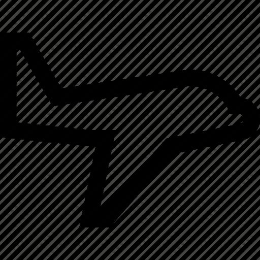 fly, plane, travel icon