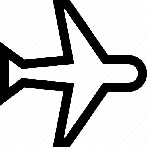 air, direction, fly, plane, travel icon