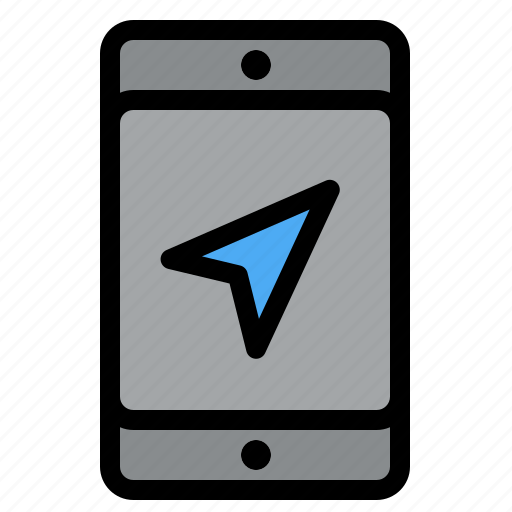Location, map, mobile, service icon - Download on Iconfinder