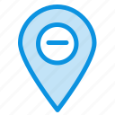 196minimize, location, map, marker, pin icon