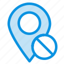 location, map, marker, medical, pin icon