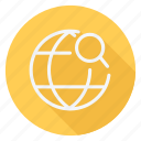 location, map, navigation, pin, pointer, search, world icon