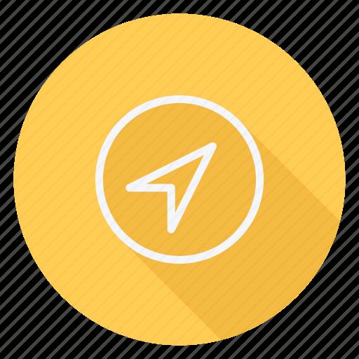 gps, location, map, navigation, pin, pointer, printer icon