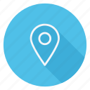gps, location, map, map marker, navigation, pin, pointer icon