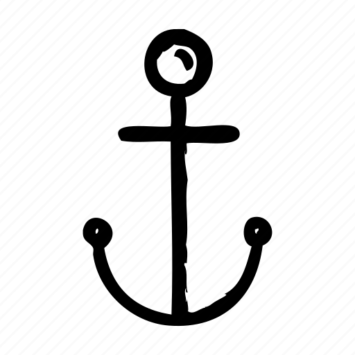 harbor, hook, location, map, place, position, spot icon