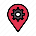 location, map, pin, pointer, setting