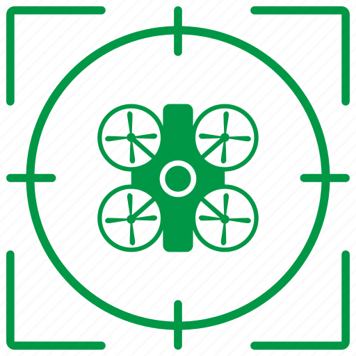 avia, delivery, drone, helicopter, robot, target icon