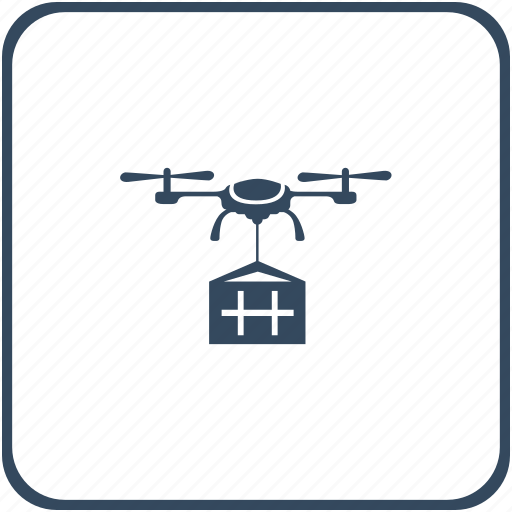 delivery, drone, flight, fly, robot, service icon