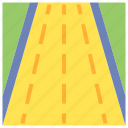 road, unsealed, sign, navigation icon