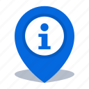 gps, information office, location, map pin, pin icon