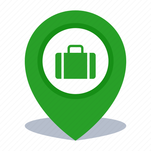 gps, location, map pin, office, pin icon