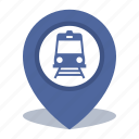 gps, location, map pin, pin, subway icon