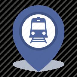 gps, location, map pin, pin, subway icon
