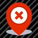 gps, location, map pin, pin icon
