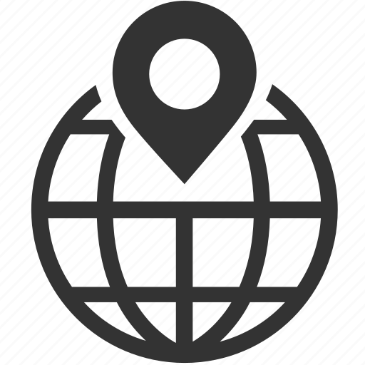 geo, global, international, location, navigation, pin, targeting icon