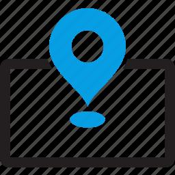 address, area, atlas, locate, location, map, marker icon